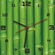 """Часы """"Зеленый бамбук"""" Арт. 00502"""