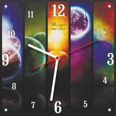 """Часы """"В ритме вселенной"""" Арт. 00503"""
