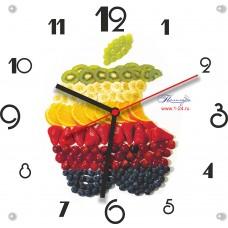 """Часы """"Фруктовый бренд"""" Арт. 00507"""