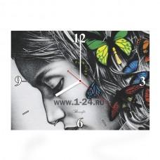 """Часы """"Цветная зарисовка"""" Арт. 00349"""