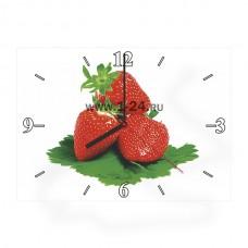 """Часы """"Клубника"""" Арт. 00408"""